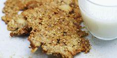 Biscuits croquants au muesli pour le petit déj'