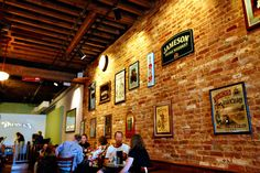 #Irish #Pub Decoration Ideas for the bar owners in #America ///Brick wall
