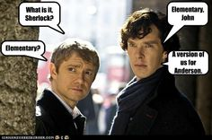 Apply cold water to area of burn! Ooooh! I'm an American, and I love my country, but we should really not be allowed to remake Sherlock Holmes! -_-