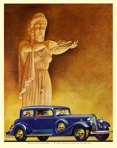 Buick, Crowned By The Golden Goddess 1933.