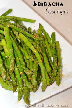 Fresh asparagus with a kick.