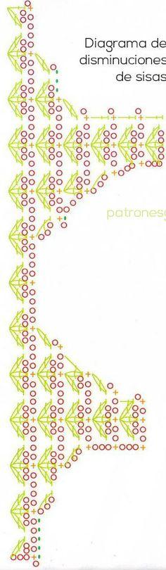 Musculosa para nosotras tejida con ganchillo / tutorial   Crochet y Dos agujas