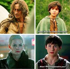 Nooooooooooooooo The Worst Parallel Ever!!! I'm Still Not Ready To See Emma In The Peak Of Darkness.