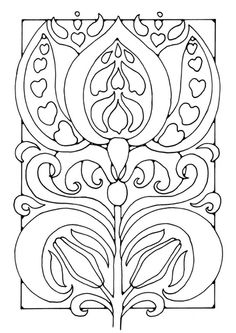 Art nouveau picture frame to contain symbol plus chandelier details Free Coloring Sheets, Coloring Book Pages, Printable Coloring Pages, Art Nouveau, Craft Patterns, Color Patterns, Embroidery Patterns, Hand Embroidery, Flower Embroidery