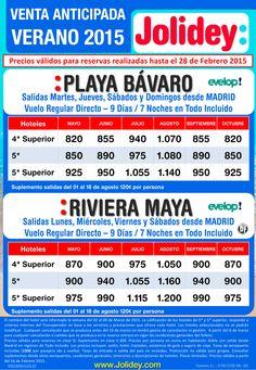 Venta Anticipada Verano 2015 a Playa Bávaro / Riv. Maya desde 820 €. ultimo minuto - http://zocotours.com/venta-anticipada-verano-2015-a-playa-bavaro-riv-maya-desde-820-e-ultimo-minuto/