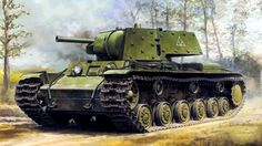 1941 KV-1E with applique Armor