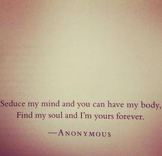 Seduce  - Love quotes