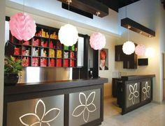love this idea for a color bar! Salon ideas!
