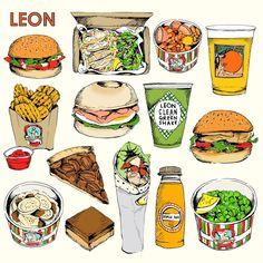 Leon product illustration by May van Millingen