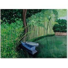 Trademark Fine Art Canvas Art Canvas Art by Two Boat, Size: 18 x 24, Multicolor