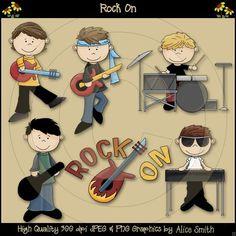 Scrappin Doodles Rock Stars