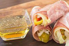"""Keto Italian Sub Roll-Ups - Delicious and Easy KETO """"Sandwich"""" Recipe"""