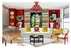 I LOVE the new colors and styles of this Home Decor! #homeforachange #roominspirationinstyle Check out this design created w/ @Jane Izard Izard Izard Goodwill #Threshold line: Right on