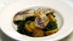 Sautéed Tilapia (The All Wisconsin Dish). Enjoy lightly sautéed Swiss chard, fingerling potatoes and shallots topped with fresh tilapia. Drizzle browned butter over the finished entrée for a quick, healthy and fulfilling meal.    (Recipe courtesy La Merenda Restaurant in Milwaukee, WI.) PBS Food