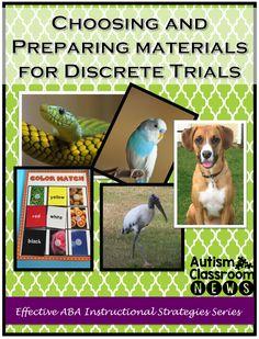 Autism Classroom News6 Considerations in Choosing and Preparing Materials for Discrete Trials