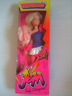 VINTAGE ROCK N CURL JEM DOLL MIB by 80sGirlAtHeart, via Flickr