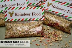 Reindeer Food for Christmas Eve