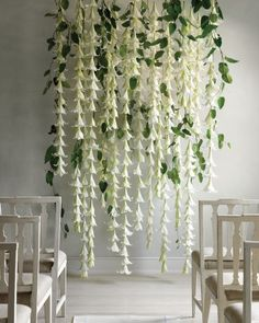 Flower Wall Wedding Backdrop   Martha Stewart Weddings