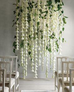 Flower Wall Wedding Backdrop