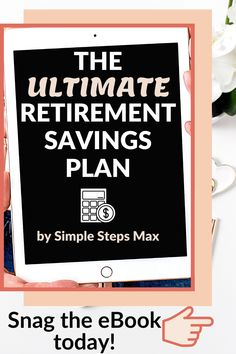 Planning for retirement is perhaps the single most important aspect of personal finance. This eBook will ensure you are saving in the best ways, investing your money in the best funds and are confident you are saving the right amount of money to comfortably retire when you're ready. #retirement #financialtips #personalfinance #investing Retirement Savings Plan, Saving For Retirement, Early Retirement, Financial Tips, Financial Planning, Personal Finance, Investing, Ebook Cover, How To Plan