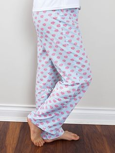 1261 Bertha Women's Pajama Pants PDF Pattern - Limited Time Free - ithinksew.com