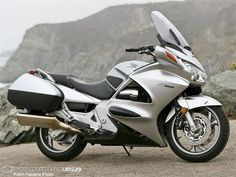 My current bike, Honda ST 1300. ST stands for sport/touring, and yes it does both and leaves you white knuckled and grinning all the way. Fastest I have ever ridden. Took a cross country trip of 6,250 miles and 23 days from Memphis to Seattle to Orange County CA, to Grand Canyon, and home. Most fun I think I have ever had.