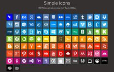 25 Free and Premium Icon Sets for Designers
