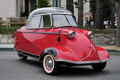 1956 Messerschmitt KR200 (via loudpop, flickr)