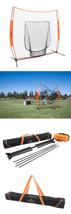Batting Cages and Netting 50809: Bownet 7 X 7 Big Mouth X Portable Baseball Softball Training Net -> BUY IT NOW ONLY: $149.99 on eBay!