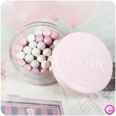 """hi beauties, the slightly shimmering pearls from our """"fun fair"""" trend edition give your face and neckline a subtle glow. the various pastel shades are. Makeup Stuff, Beauty Stuff, Beauty Make Up, Diy Beauty, Makeup Looks, Fashion Beauty, Beauty Hacks, Make Up Art, Make Me Up"""