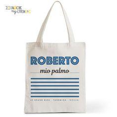 Tote Bag Rock my Citron, Roberto Mio Palmo, La Cité de la Peur, Cadeaux Fêtes, Anniversaires