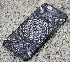 Vintage black floral iphone case iphone 6 plus folk iphone 5 ipho Iphone 5s, Iphone 6 Cases, Iphone 6 Plus Case, Coque Iphone, Cute Cases, Cute Phone Cases, Capas Iphone 6, Accessoires Iphone, Iphone Accessories