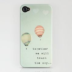 together we will touch the sky... iPhone 4 case