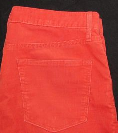 Gap 1969 Sexy Boyfriend Corduroys Pants Jeans Straight Leg Mid Rise sz 29 X 28 #GAP #Corduroys