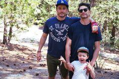 Lgbt Couples, Couples In Love, Make A Family, Cute Family, Matt Dallas, Matt And Blue, Love Conquers All, Joey Graceffa, Three's Company