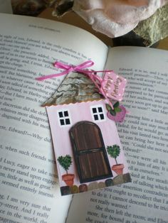 Cottage House Bookmark by cinderellamoments on Etsy