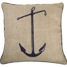 Thomas Paul Anchor Pillow in Ink