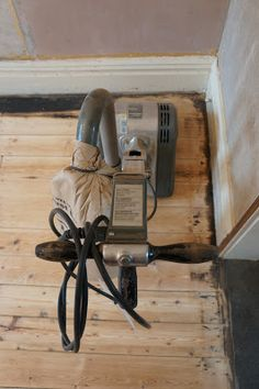 How to sand a Victorian pine floor