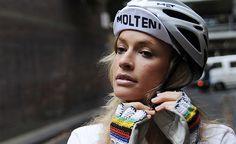 I want those bike gloves like whoa.
