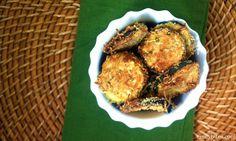 Emily Bites - Weight Watchers Friendly Recipes: Parmesan Zucchini Rounds