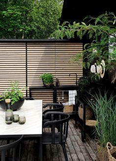 Gardening – Gardening Ideas, Tips & Techniques Outdoor Rooms, Outdoor Gardens, Outdoor Living, Patio Wall, Backyard Patio, Terrace Garden, Garden Spaces, Scandinavian Garden, Rooftop Design