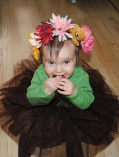 flower pot halloween costume with baby - Google Search