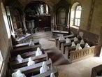 Kudy z nudy - Kostel sv. Jiří v Lukové se sádrovými duchy věřících