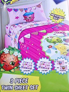 Shopkins Pillowcase Best Friends