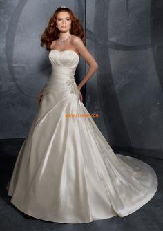 Hall Court Släp Elegant & Lyxig Bröllopsklänningar 2014