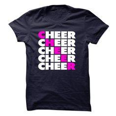 Cheer T Shirts, Hoodies, Sweatshirts. BUY NOW ==► https://www.sunfrog.com/LifeStyle/Cheer-16819957-Guys.html?41382