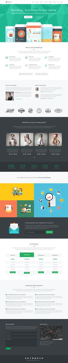 Content writing website template | Free PSD Design | Pinterest ...