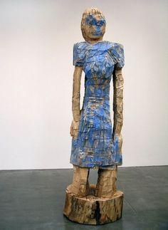 Georg Baselitz, Mutter Der Girlande (1996), via Artsy.net