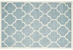 Tamako Rug, Blue/Ivory | Find Your Foundation | One Kings Lane