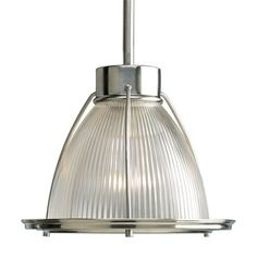 Progress Lighting P5163-09 Kitchen Mini Pendant, Brushed Nickel - Lighting Universe $124 100w incandescent